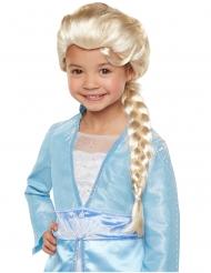 Peruca luxo Elsa Frozen 2™ menina