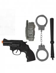 Kit de Polícia 4 peças