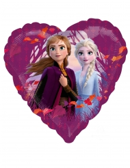 Balão alumínio coração Frozen 2™ 43 cm