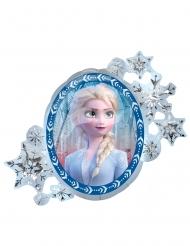 Balão alumínio frente e verso Elsa e Anna Frozen 2™ 76 x 66 cm
