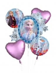Ramo 5 balões alumínio Frozen 2™