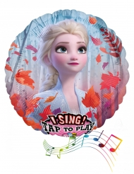 Balão de alumínio musical Frozen 2™ 71 cm