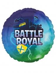 Balão alumínio redondo battle royale 43 cm