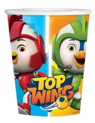 8 Copos em cartão Top Wing™ 250 ml