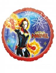 Balão alumínio Captain Marvel™ 43 cm