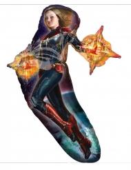 Balão alumínio Captain Marvel™ 68 x 93 cm
