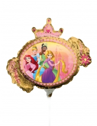 Balão pequeno frente e verso Princesas Disney™ 23 cm