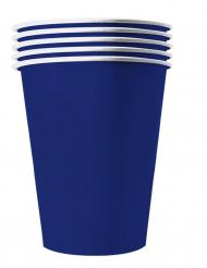 20 Copos americanos cartão reciclável azul 25 cl