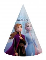 6 Chapéus de festa de cartão Frozen 2™