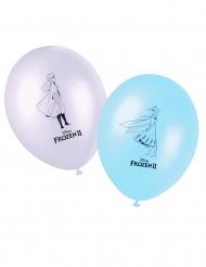 8 Balões de látex Frozen 2 - O Reino do Gelo™ 28 cm