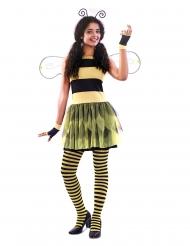 Disfarce vestido abelha mulher