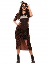 Disfarce steampunk mulher