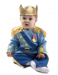 Disfarce pequeno príncipe azul bebé