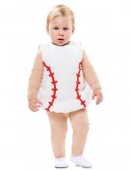 Disfarce bola de basebol bebé