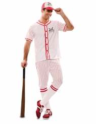 Disfarce jogador de baseball homem
