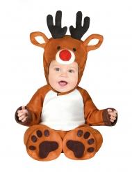 Disfarce pequena rena bebé