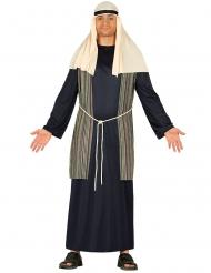 Disfarce pastor azul homem