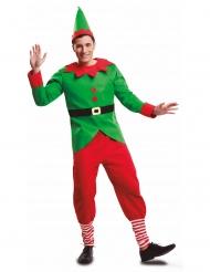 Disfarce duende de Natal homem