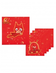 6 Guardanapos de papel SamSam™ 33 x 33 cm