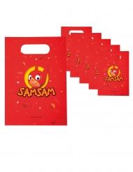 6 Sacos de festa em papel SamSam™ 23 x 16 cm