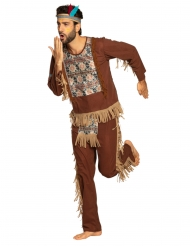 Disfarce índio sábio homem