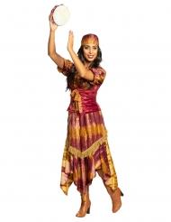 Disfarce gypsy mulher