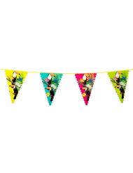 Grinalda bandeirolas de plástico tucano 45 x 30 cm 6 m