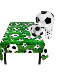 Kit loiça descartável futebol 25 peças