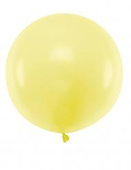 Balão de látex gigante amarelo 60 cm