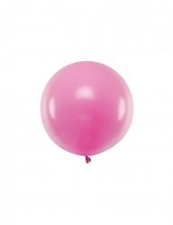 Balão de látex gigante fúcsia 60 cm