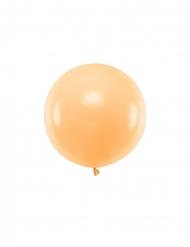 Balão de látex gigante pêssego 60 cm