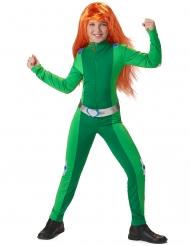 Disfarce espia verde menina
