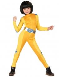 Disfarce espia amarela menina