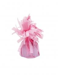 6 Pesos balões com franjas cor-de-rosa