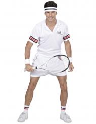 Disfarce jogador de ténis adulto