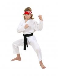 Disfarce judoca criança