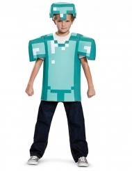 Disfarce armadura Minecraft™ criança