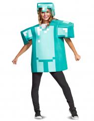 Disfarce armadura Minecraft™ adulto