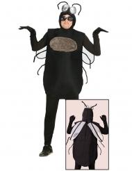Disfarce mosca homem