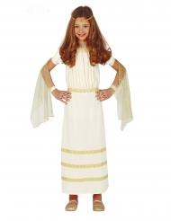Disfarce romana branco menina