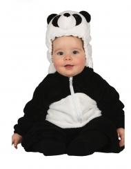 Disfarce panda bebé