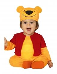 Disfarce ursinho amarelo bebé