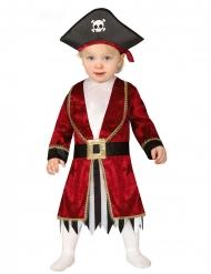 Disfarce vestido pirata bebé