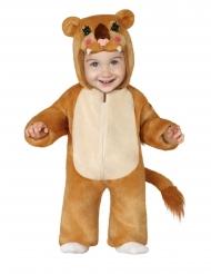 Disfarce leão pelúcia bebé