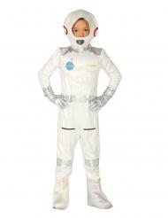 Disfarce cosmonauta criança