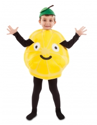 Disfarce pequeno limão criança