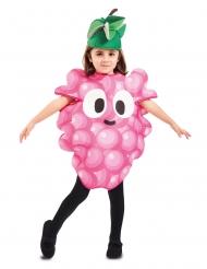 Disfarce cacho de uvas criança