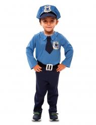 Disfarce polícia menino