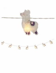 Grinalda luminosa lamas 10 LEDS 165 cm