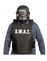 Capacete anti-motim SWAT adulto